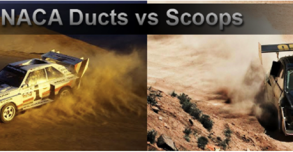 NACA Duct vs. Scoop