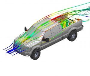 Aerodynamics of Tailgate Closed vs. Open