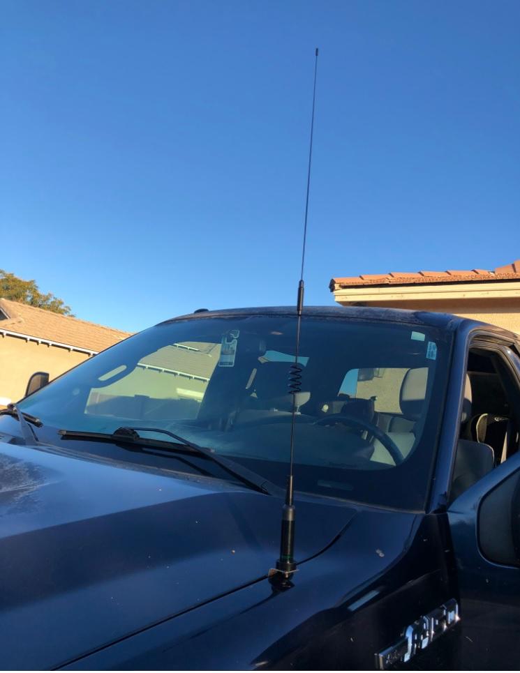 offroad overland radio antenna mount uhf vhf dual band