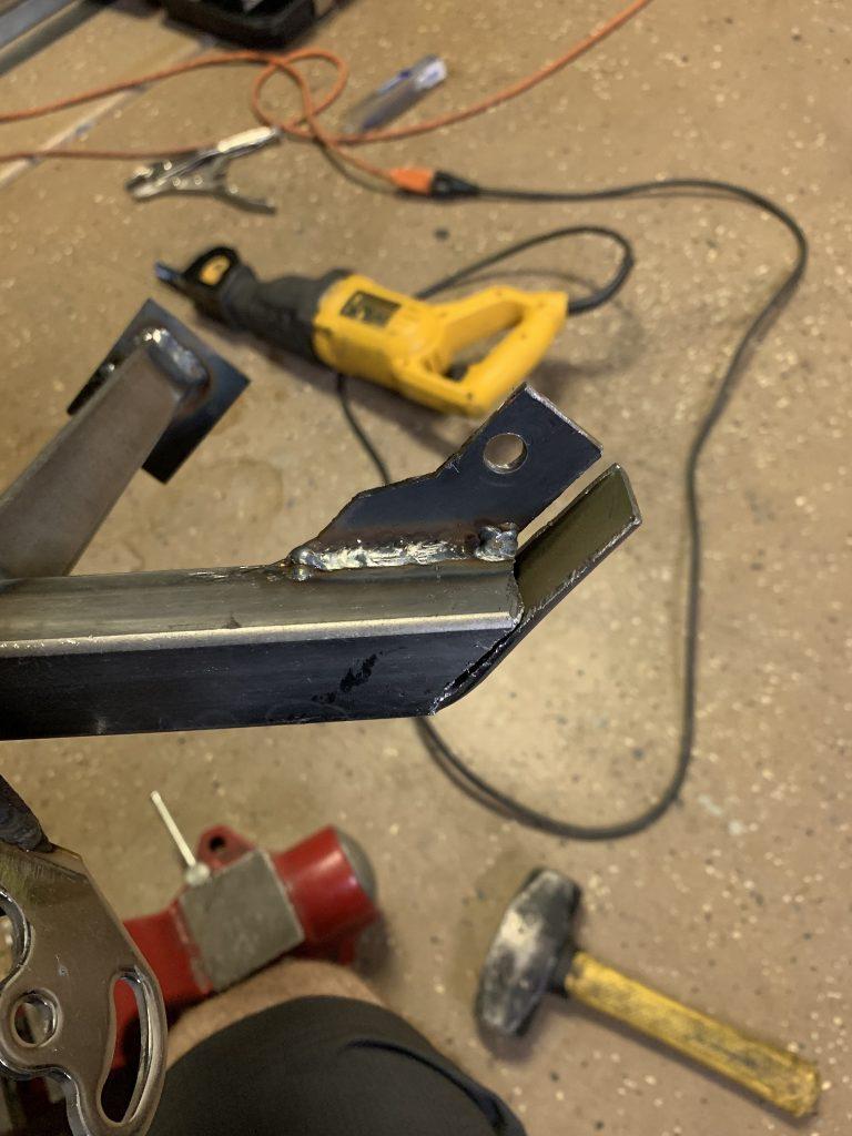 2014 F150 LED bar mount diy