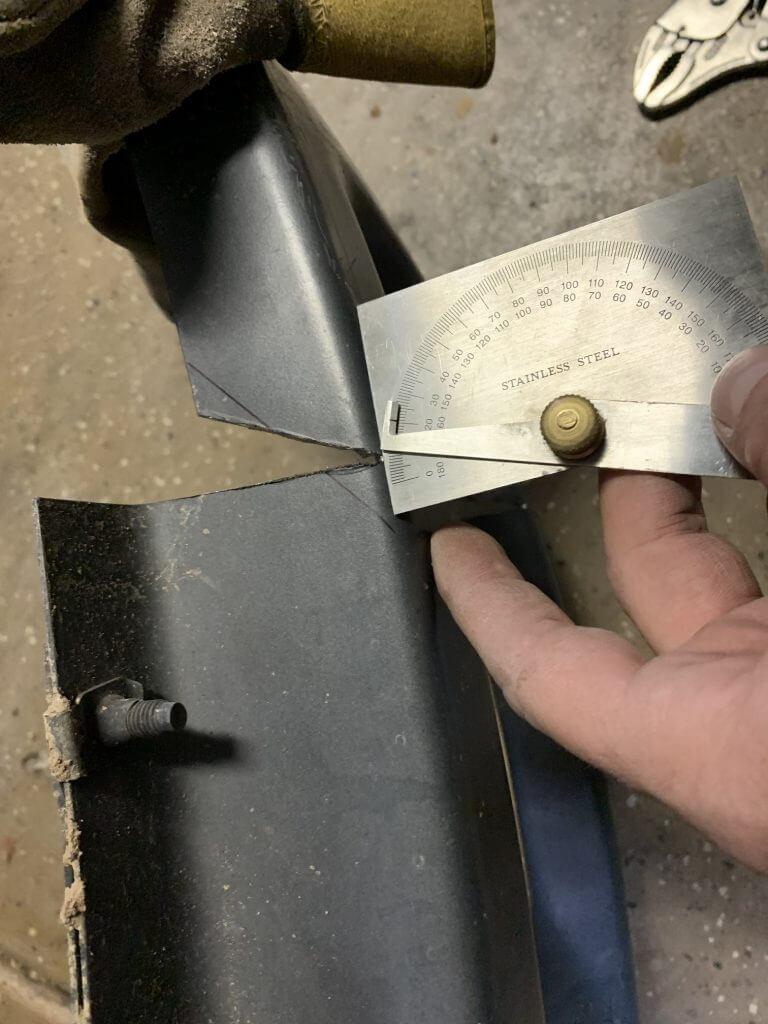 DIY F150 Raptor bumper swap cut
