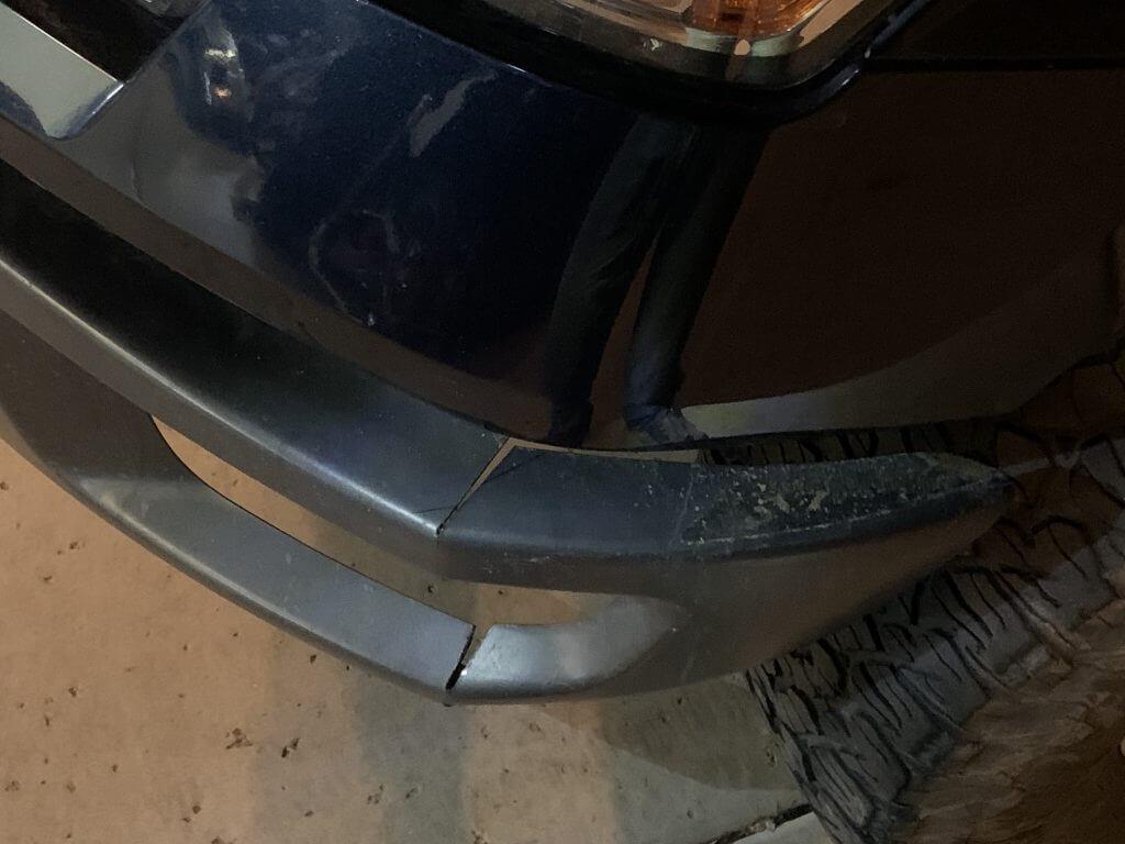 Bending Raptor bumper for F150 swap