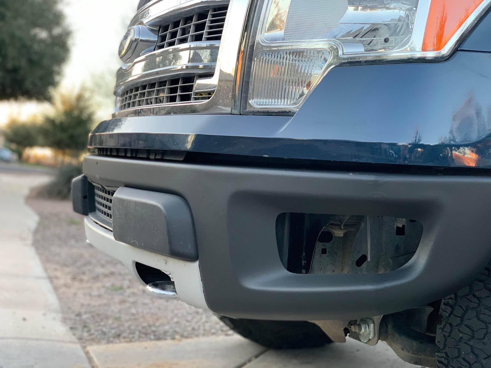 DIY F150 Raptor Bumper Swap
