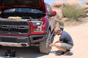 DIY 4-wheel tire inflator kit