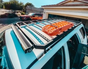 DIY 4runner Roof Rack from 1in x 2in tube steel