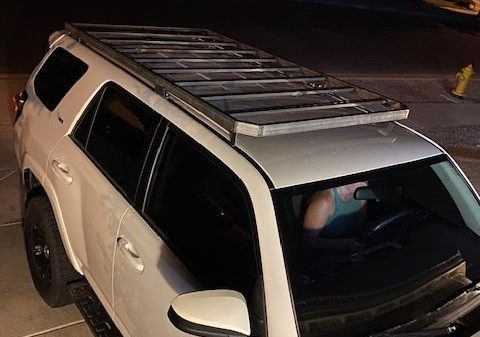DIY 4Runner roof Rack tacked welded and test fit