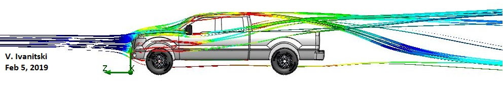 Ford f150 aerodynamics airflow