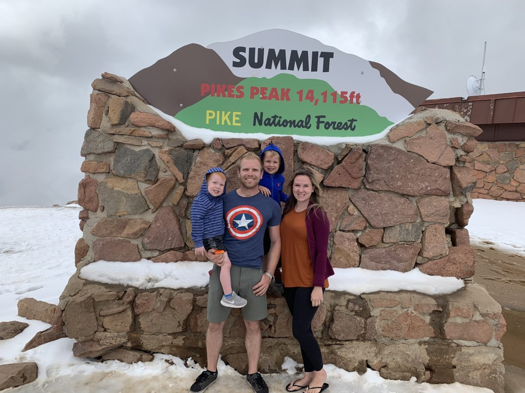 Pikes Peak, overland family