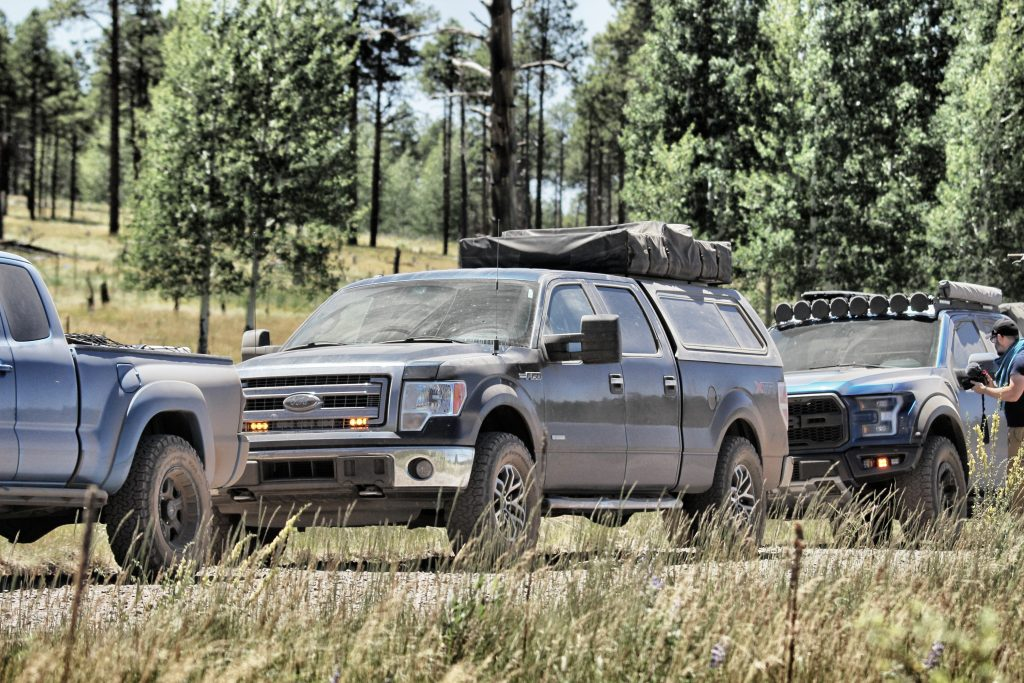 smittybilt overlanderXL roof top tent on 2014 ford f150