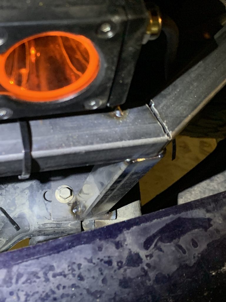 2014 F150 behind the grill LED bar mount bolt in DIY