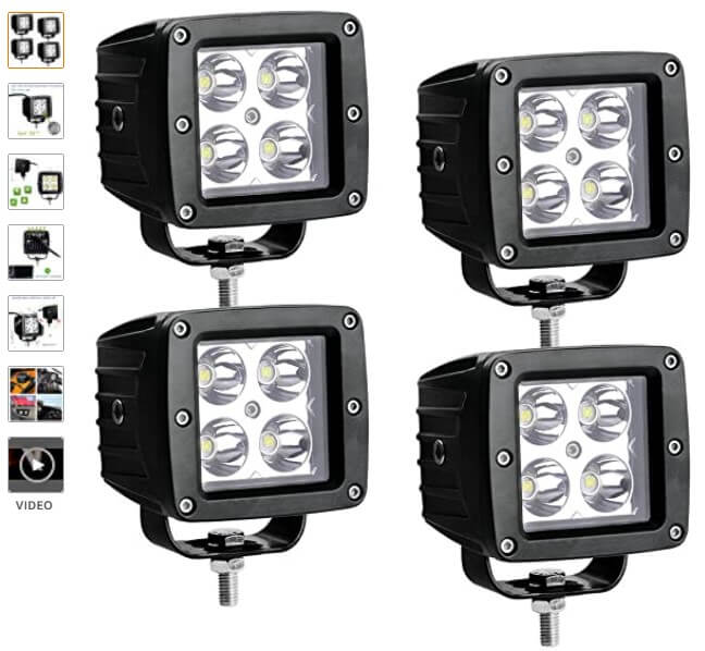 Affordable LED pod lightbar solutions for enthusiast overlanding ebay amazon