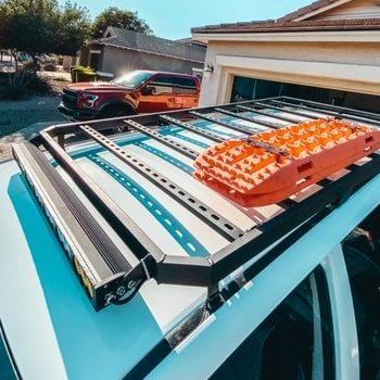 DIY 4runner Roof Rack from 1in x 2in tube steel