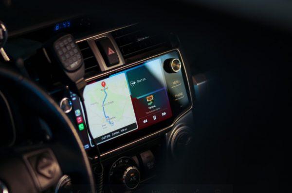 T10 CarTrimHome Rhino 4runner Apple CarPlay headunit in 5th gen 2016 4runner